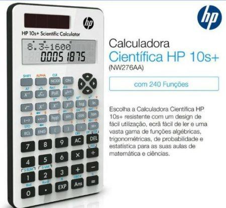 Calculadora HP 10s+ Científica