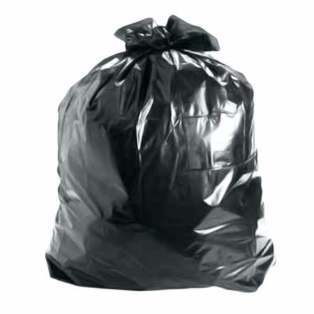 Saco de Lixo 100 Litros Preto 0,05 micras com 100