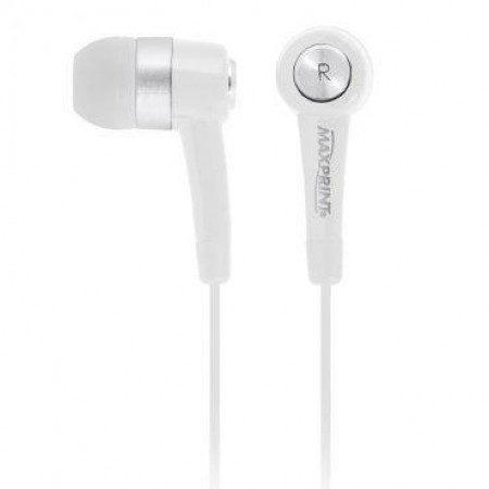 Earphone Maxsound White Maxprint referência 601150-1